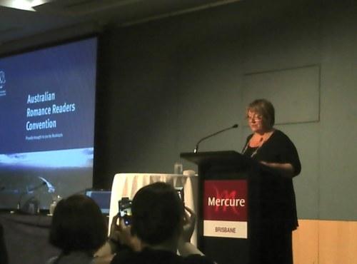 Keynote speaker Anne Gracie ARRC 2013
