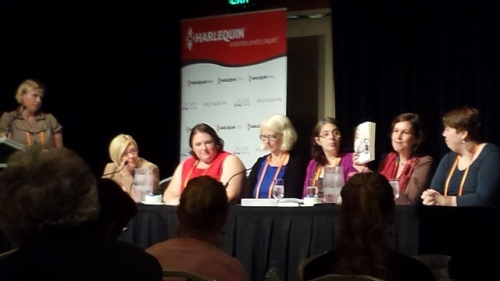 Shelia Hodgson, Alex Zidle, Nina Bruhns, Alisa Kradnostein, Bernadette Foley and Kate Cuthbert