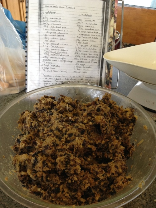 Kate Belle's Christmas Pudding mix